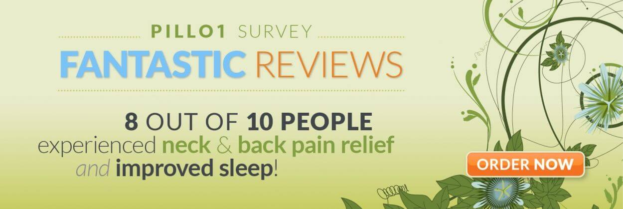PILLO1 Neck Pain Relief Banner